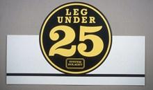 """""""Leg under 25 år"""", golvställ"""