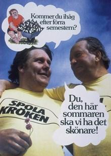 """Affisch: """"Kommer du ihåg efter förra semestern?"""""""